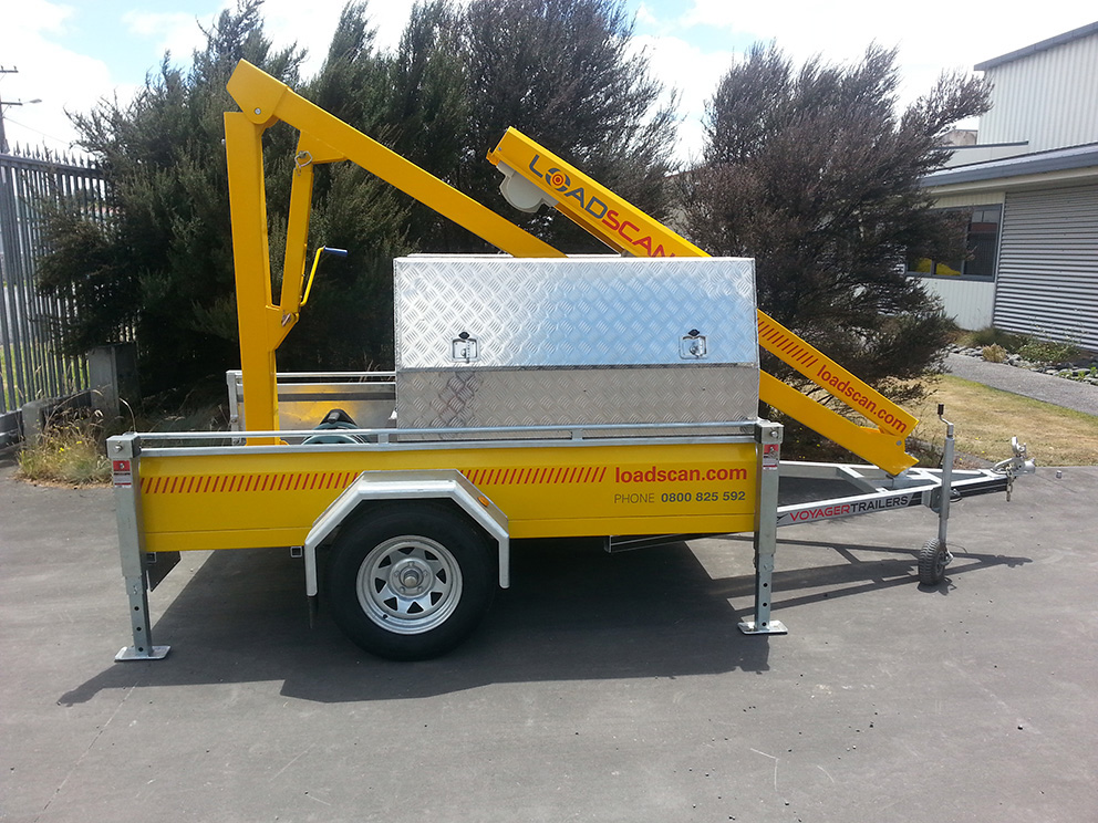 Loadscan Mobile LVS on Trailer Unit