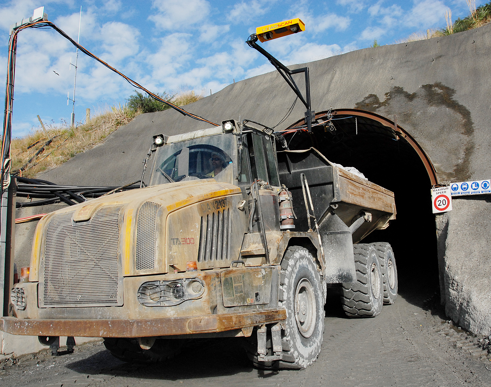 LoadScan Custom Head Unit - LVS-3CMX Newmont Mine