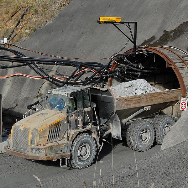 Newmont Waihi Gold Mine - Loadscan custom LVS Head