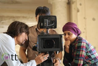 On location in Kabul, Afghanistan with Roya Film House
