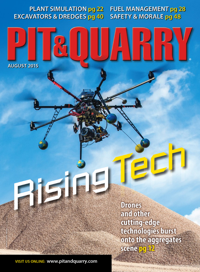 Pit & Quarry August 2015 Cover