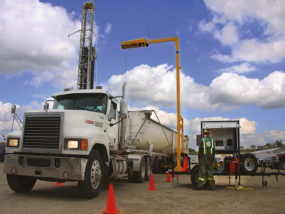 LoadScan Oil and Gas mobile LVS Trailer