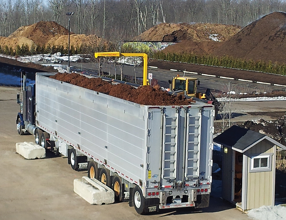 Loadscan Compost and mulch load management