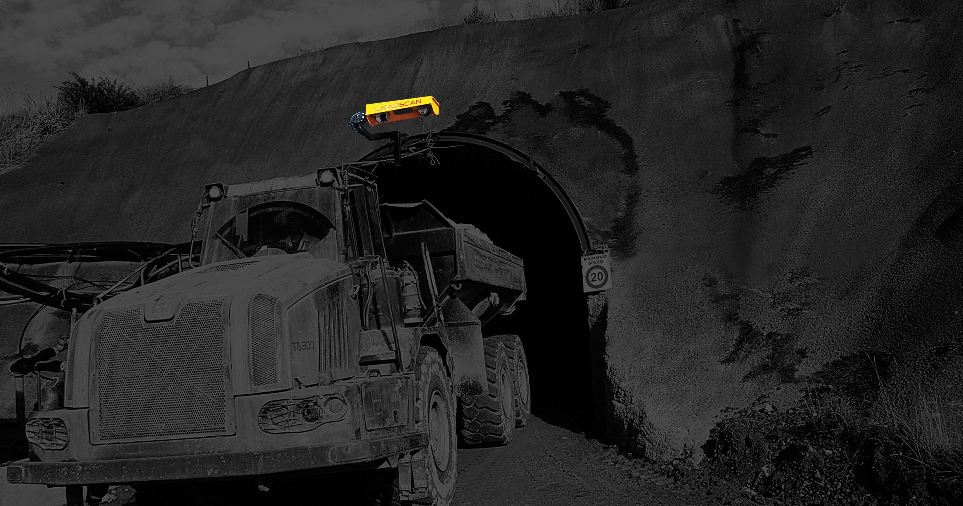 Newmont Mine with Loadscan Custom mounted LVS