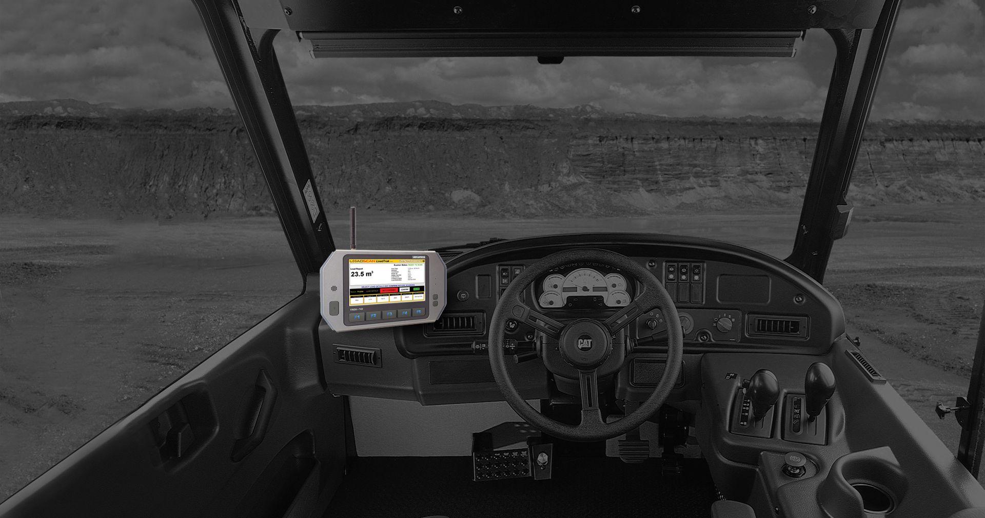 truck incab console loadTrak