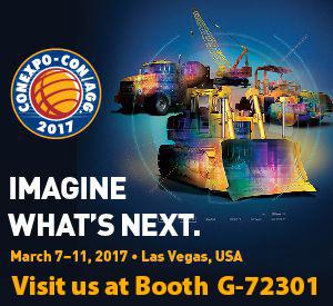 We'll be at ConExpo 2017 Booth G-72301
