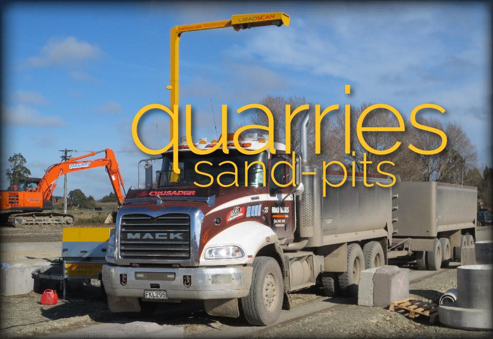 Loadscan Quarry Sand-pit Applications
