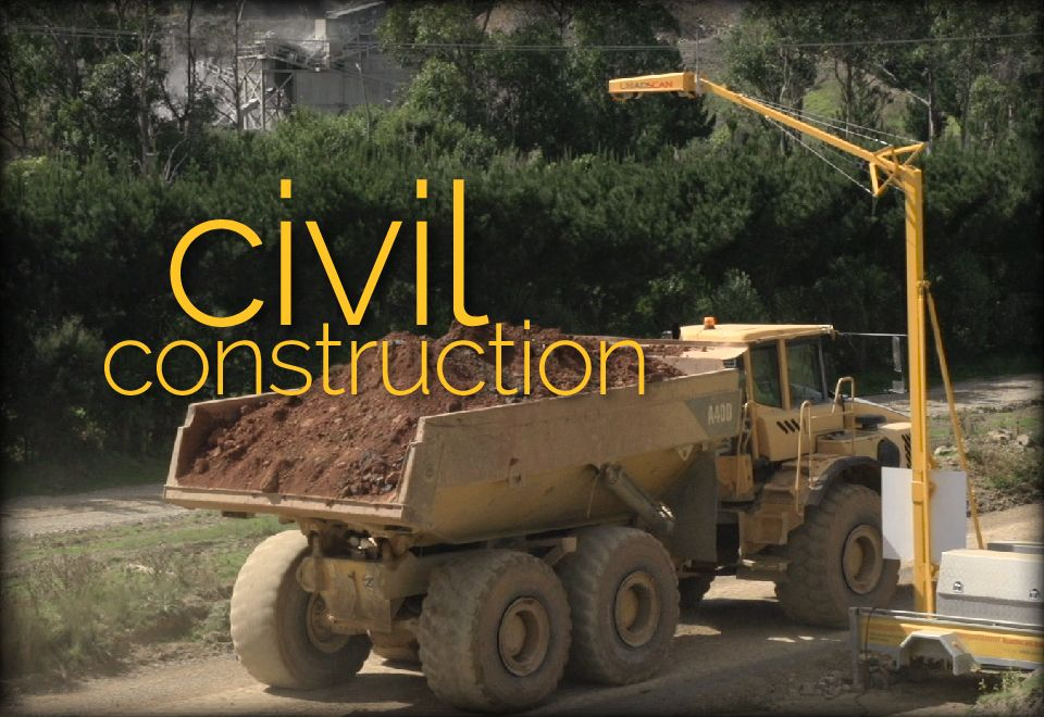 Loadscan Civil Construction Applications
