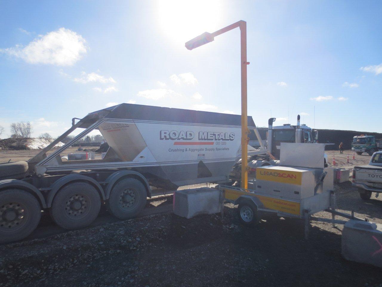 Road Metals Loadscan Scanner