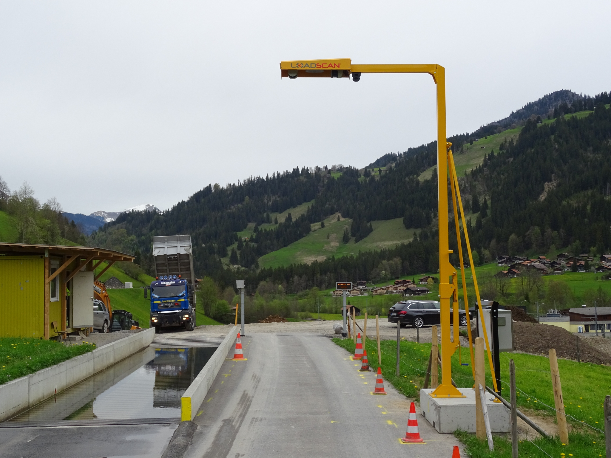 Loadscan LVS-3BMF for Banholzer, Switzerland