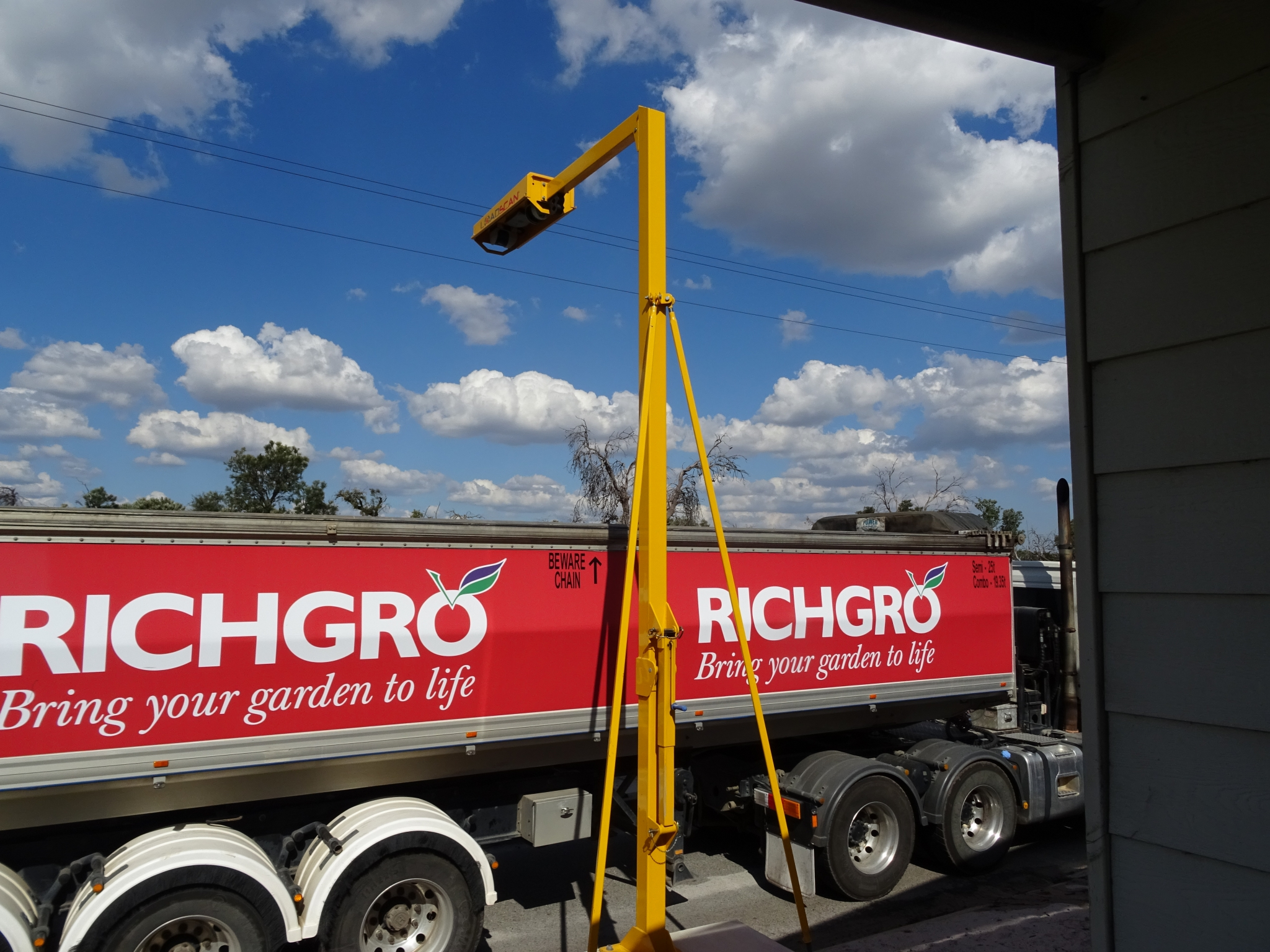 Rich Gro use Loadscan LVS unit
