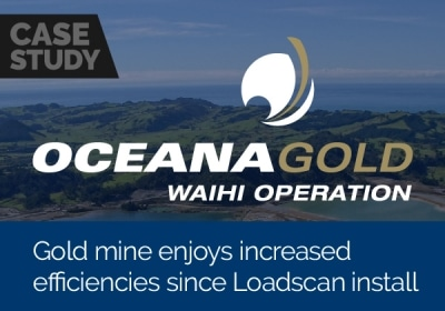 Gold mine enjoys increased efficiencies since Loadscan install