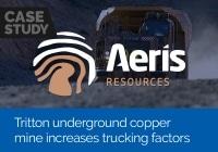Tritton underground copper mine increases trucking factors