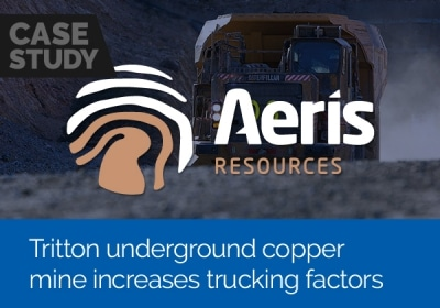 Tritton underground copper mine increases trucking factors