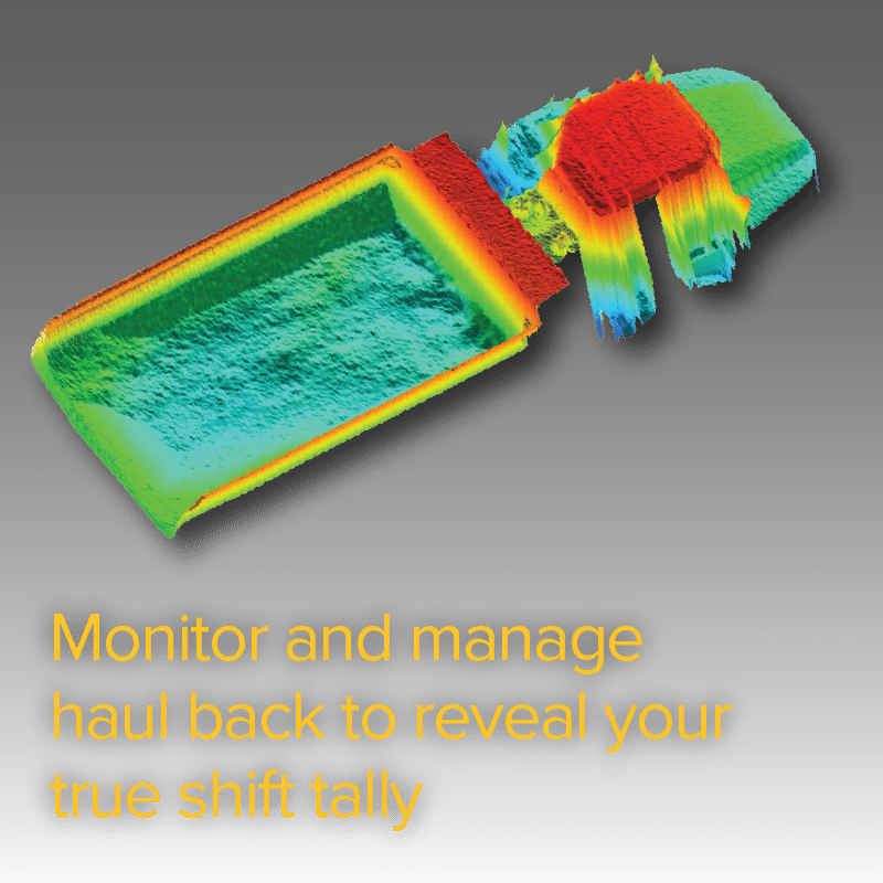 Monitor and manage haul back to reveal your true shift tally