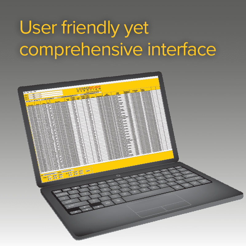 User friendly yet comprehensive interface