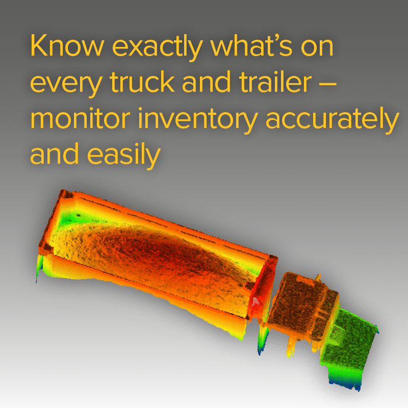 Know exactly what's on every truck and trailer – monitor inventory accurately and easily