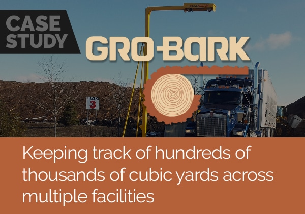 Keeping track of hundreds of thousands of cubic yards across multiple facilities