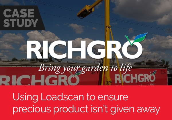 Using Loadscan to ensure precious product isn't given away