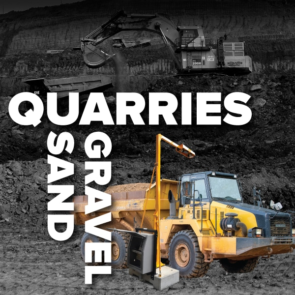 Loadscan Quarry Sand-pit Applications