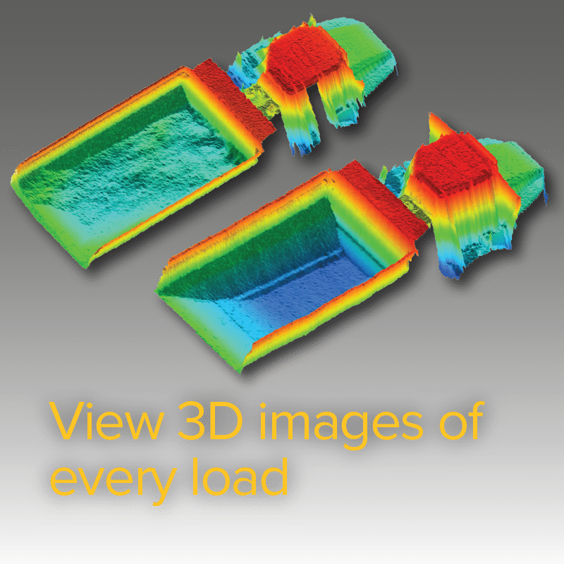 View 3D images of every load