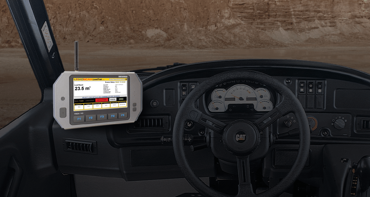 Loadtrak in-cab consoles