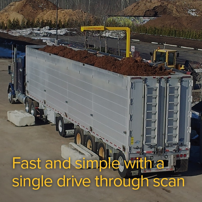 Fast and simple with a single drive through scan