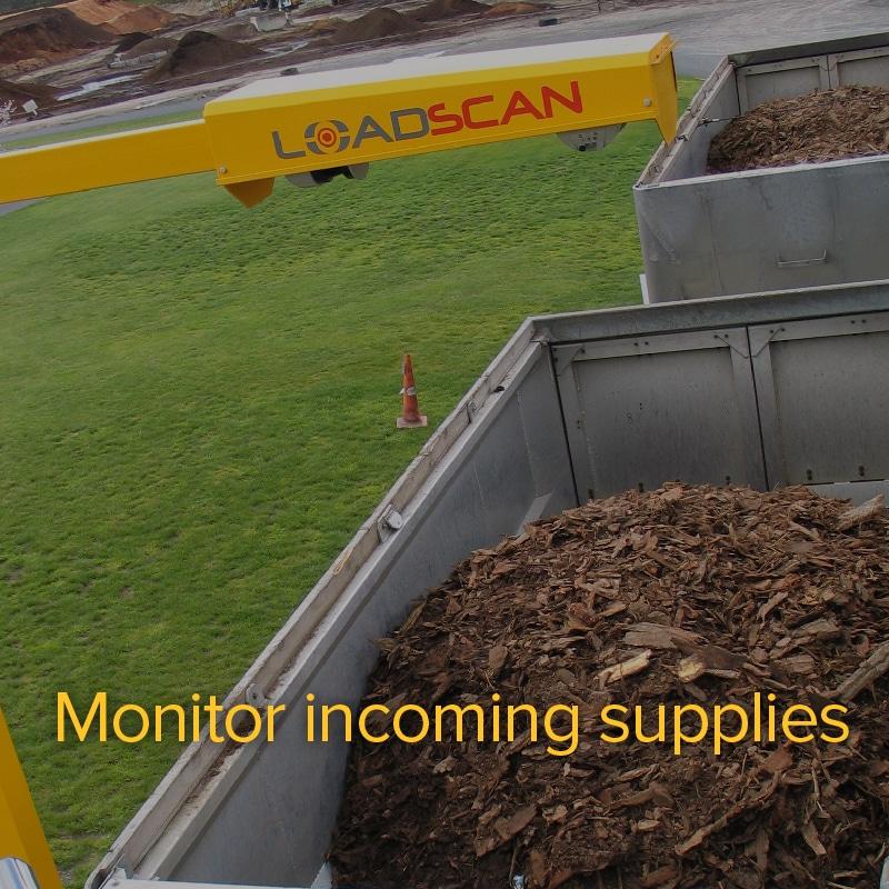 Monitor incoming supplies