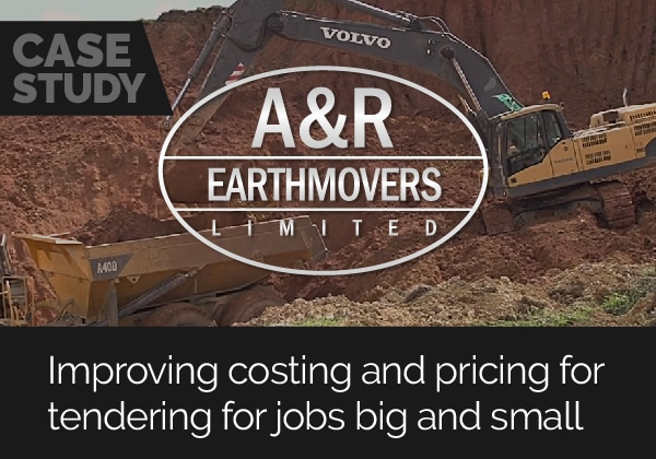 CASE STUDY - A&R Earthmovers: Improving costing and pricing for tendering for jobs big and small