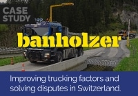 Improving trucking factors and solving disputes in Switzerland