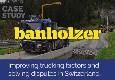 Improving trucking factors and solving disputes in Switzerland
