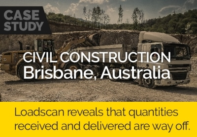 Loadscan reveals that quantities received and delivered are way off