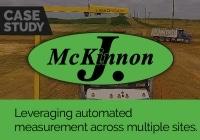 Leveraging automated measurement across multiple sites