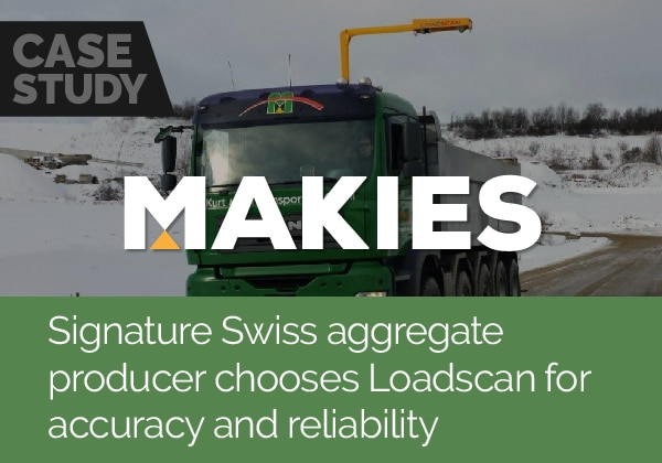 Signature Swiss aggregate producer chooses Loadscan for accuracy and reliability