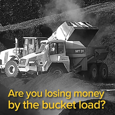 Are you losing money by the bucket load?