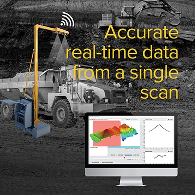 Accurate real-time data from a single scan