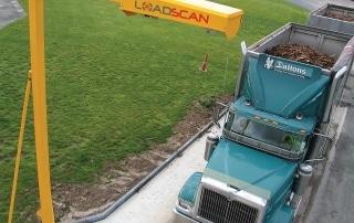 Loadscan volume scanning truck