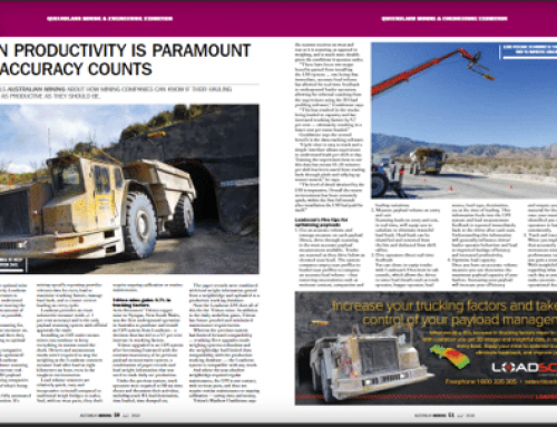 Loadscan featured in Australian Mining Magazine