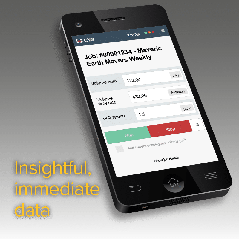 Loadscan-CVS Insightful immediate data