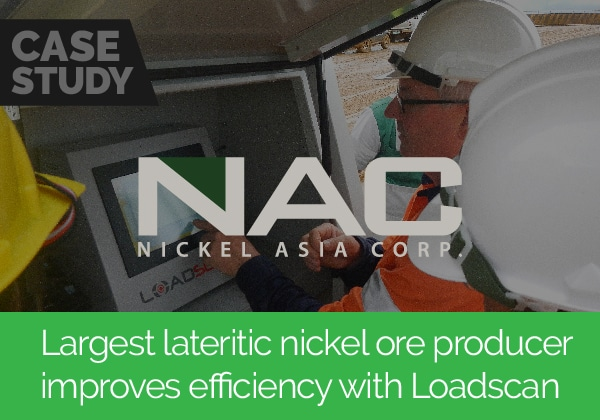 Largest lateritic nickel ore producer improves efficiency with Loadscan