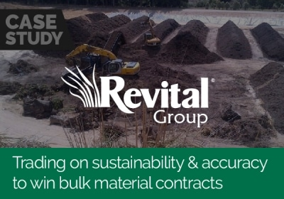 Trading on sustainability and accuracy to win bulk material contracts