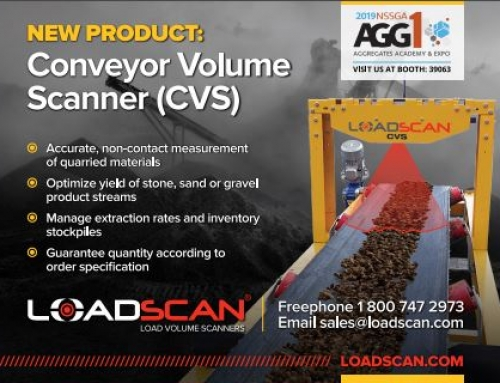 Taking conveyor volume scanning to the world at WOA/AGG1