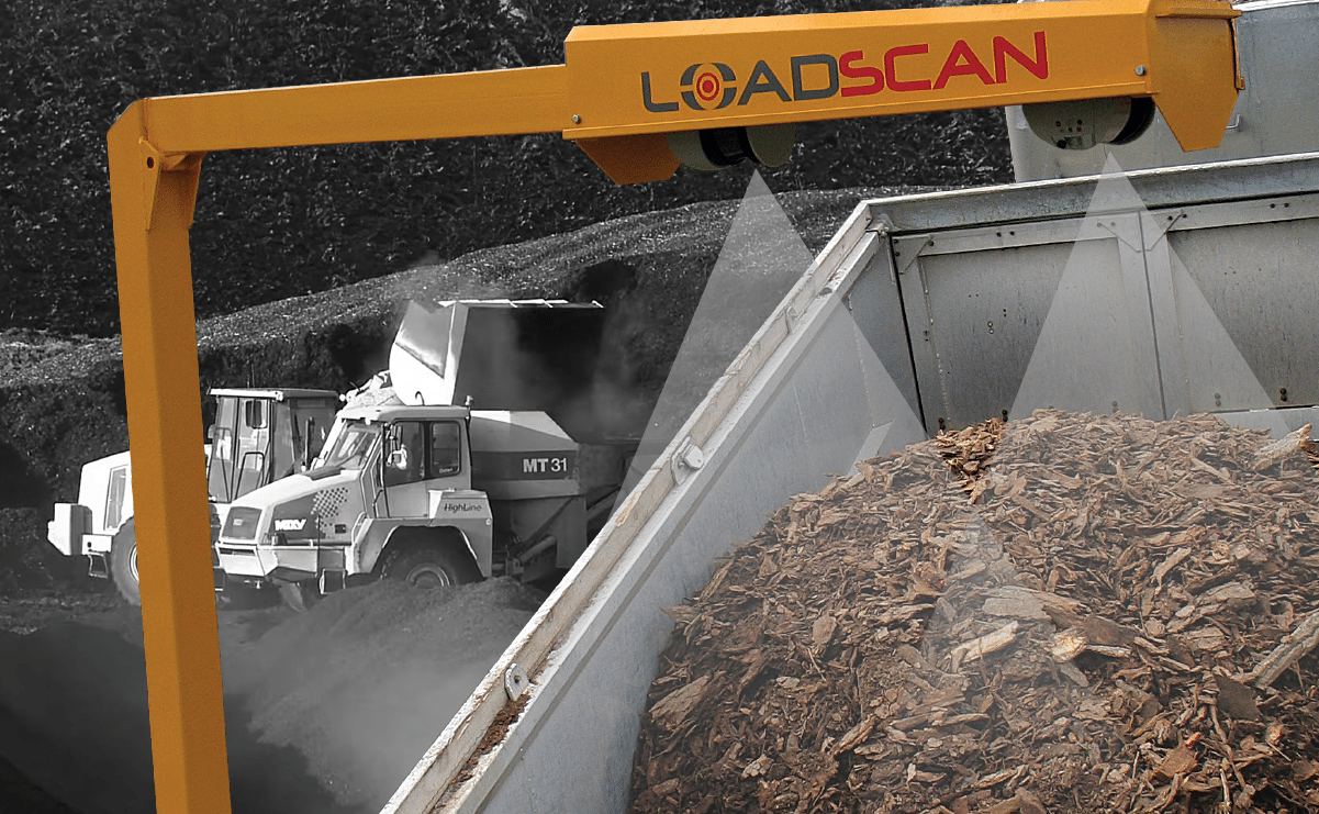 Loadscan Truck Mulch volume scanning