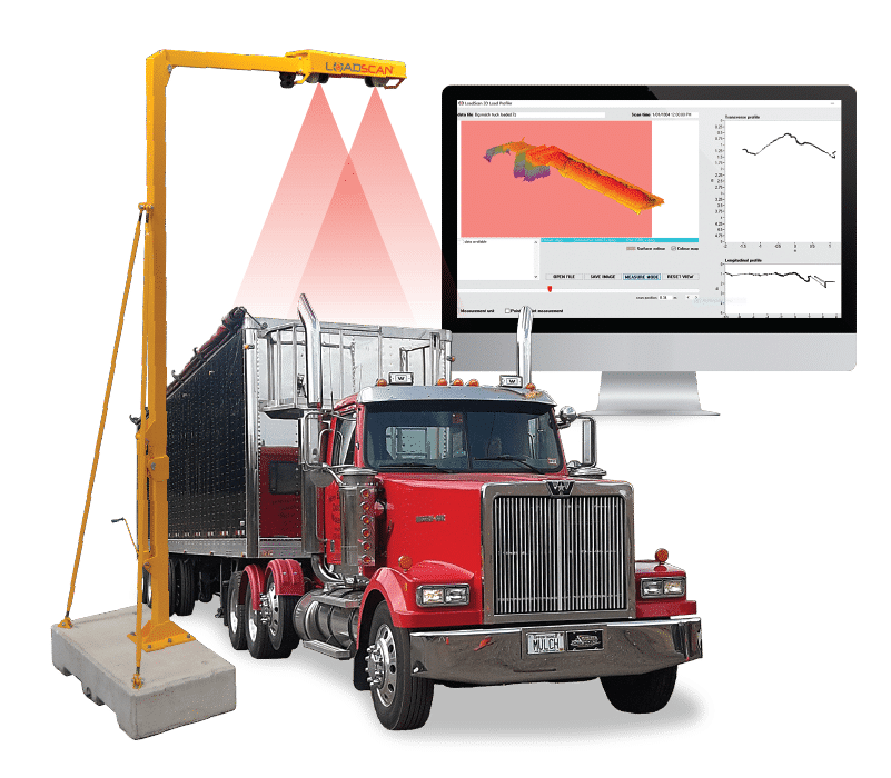 Loadscan Mulch Load volume scanner