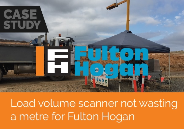 Load volume scanner not wasting a metre