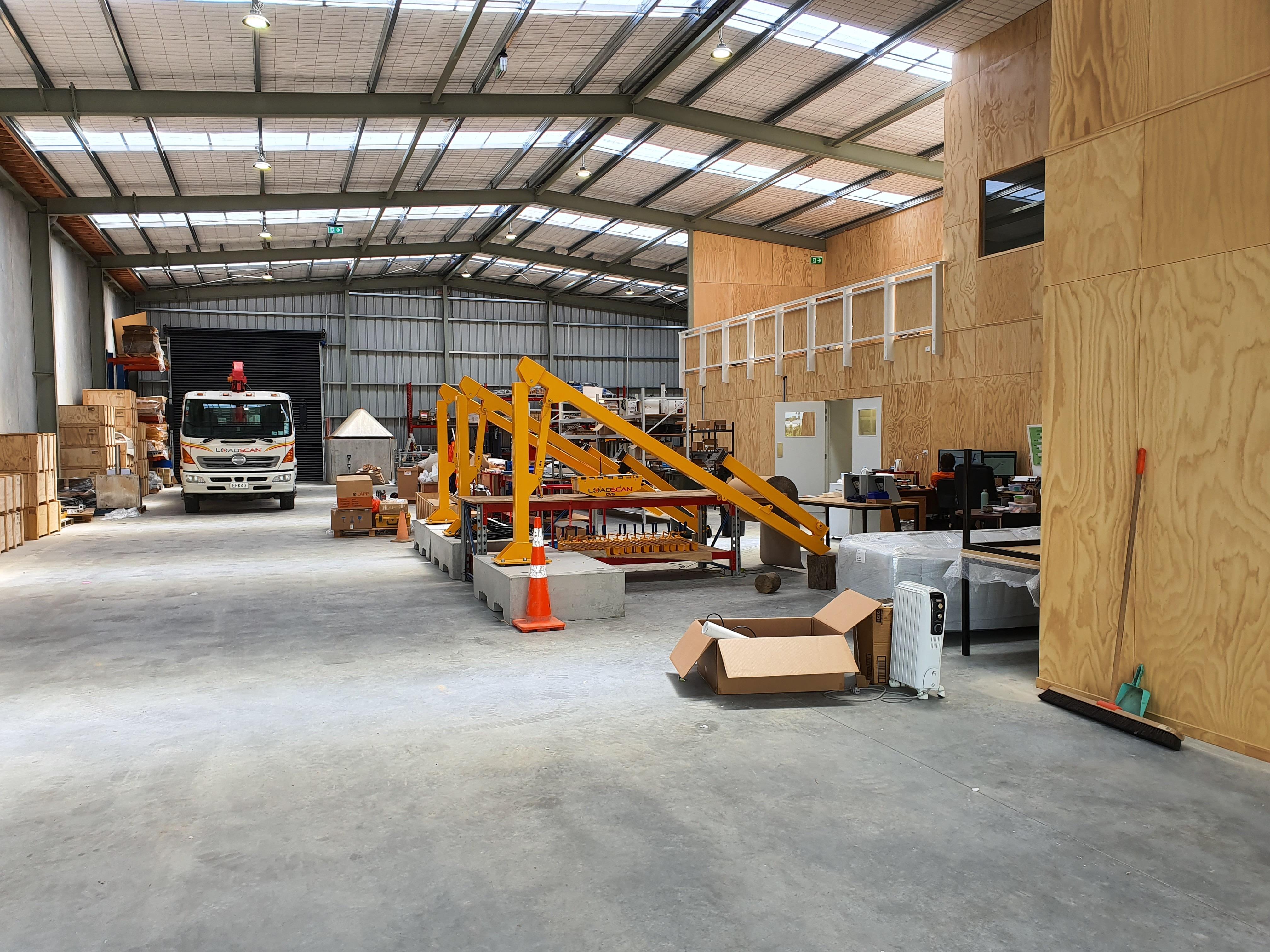 Loadscan warehouse - volumetric scanners