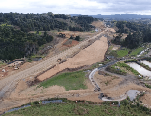 Tracking material movements on a large-scale roading project in New Zealand